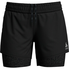 Odlo Millennium Pro 2-in-1 Shorts Dames, black